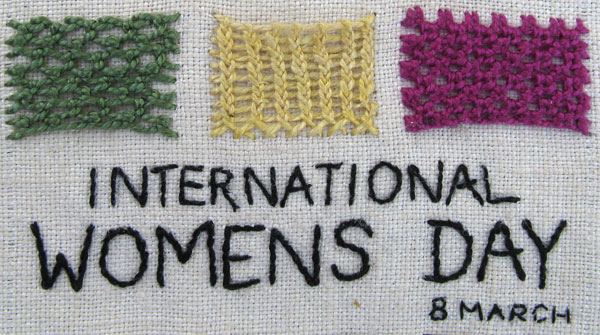 My Band Sampler 33 - Internationl Womens Day