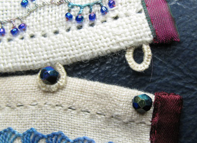 Detail of loops and beads