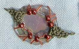 needlelace leaf edge experiment