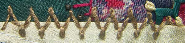 Twisted Chain Stitches