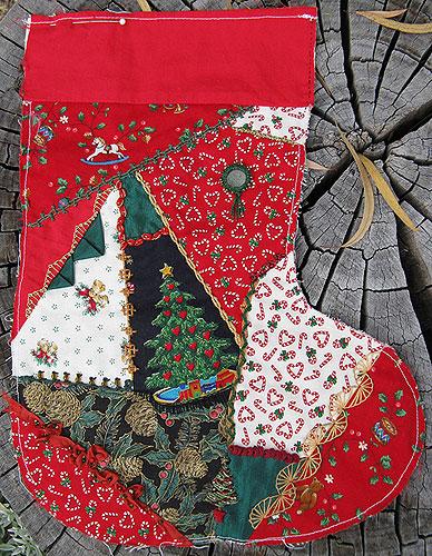 progress on Christmas Stocking #16