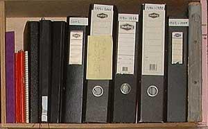 Black Manilla Arch folders