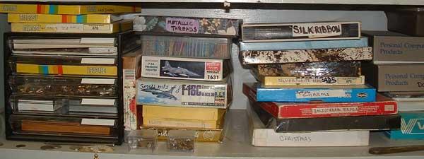 Old box storage system