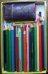 sharp colouring pencils