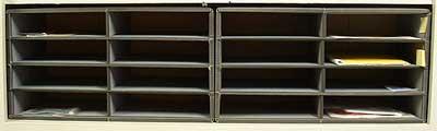 sorting file shelves