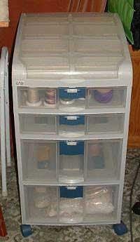 Storage unit in my studio
