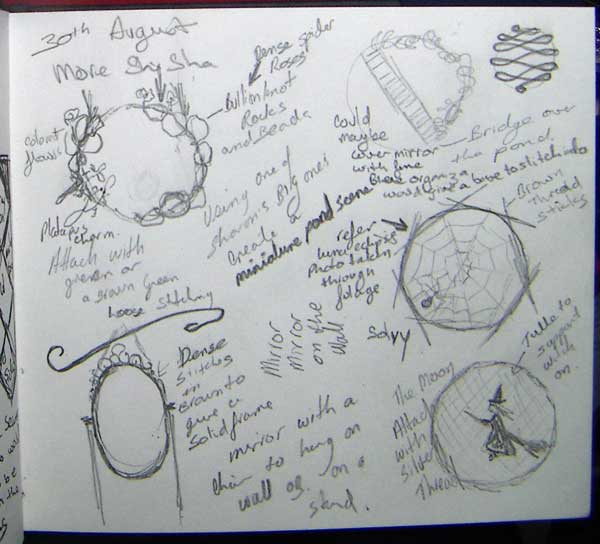 More shisha ideas in visual journal