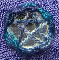 shisha anchored with a star