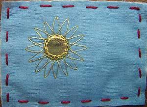 A Golden shisha sun