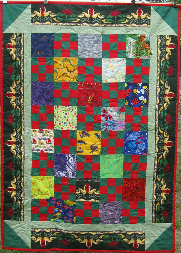Nine Patch and Squares