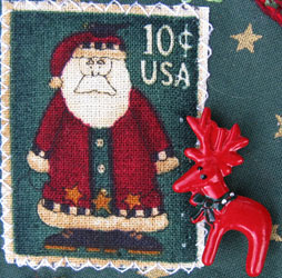 Fabric Christmas Stamp