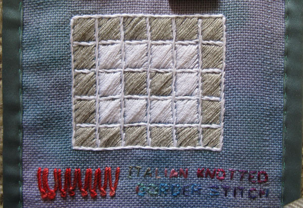 Italian Knotted Border Stitch